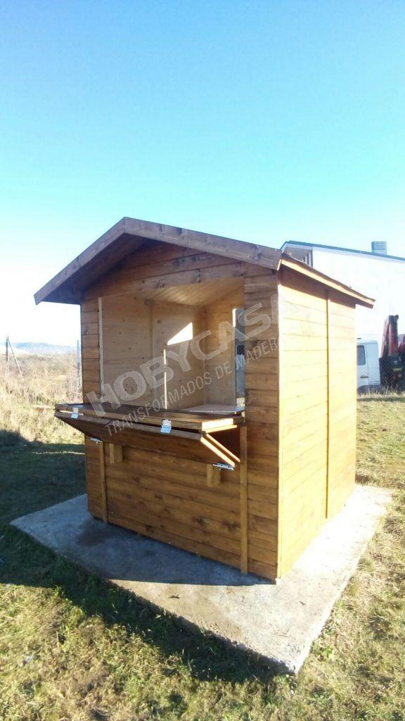 Kiosko de madera