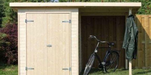 montaje de caseta de jardin con paneles de madera HOBYCASA