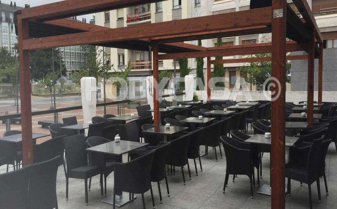 Pergolas para hosteleria en Vitoria