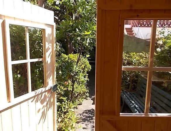 opiniones clientes Hobycasa caseta de madera FINA 2