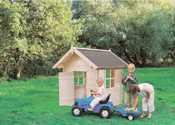 caseta de madera para niños BIMBI HOBYCASA