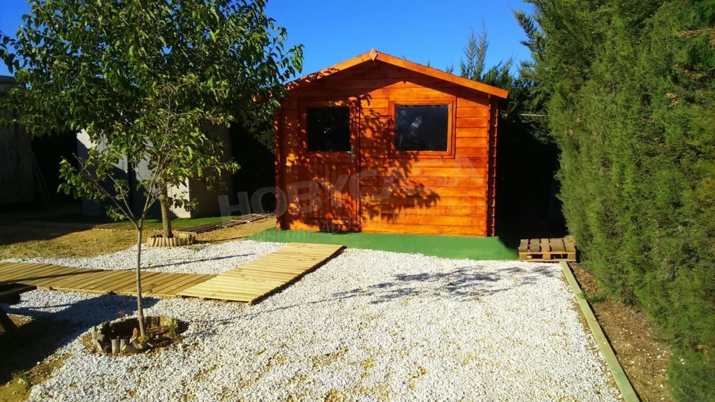 Casetas de madera jardín Sevilla Dalia