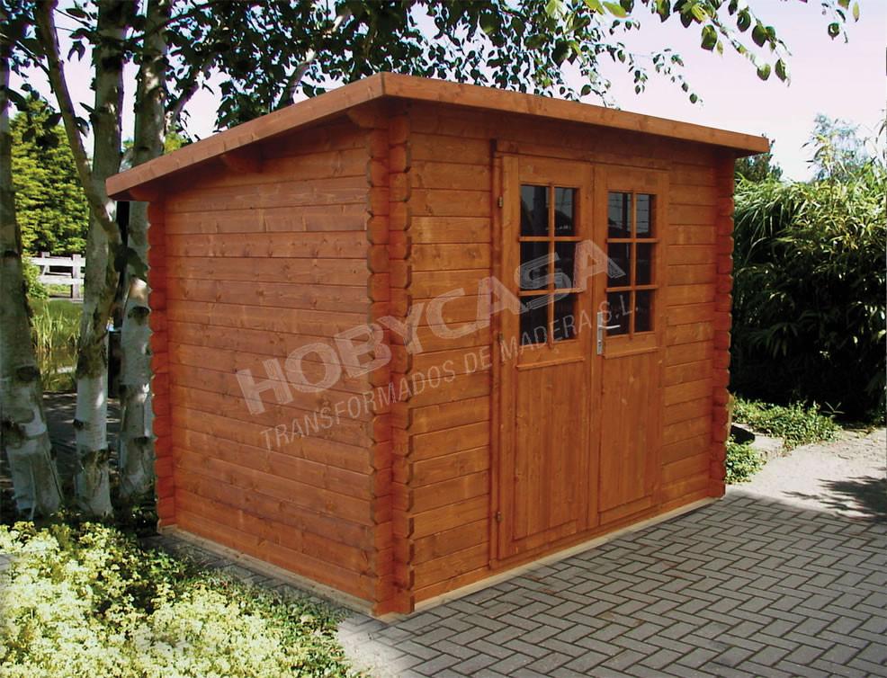 Casetas de madera jardín Sevilla Kris