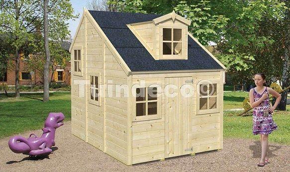 4 casitas de madera para ni os perfectas para tu jard n for Casetas de ninos para jardin segunda mano