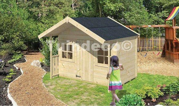 4 casitas de madera para ni os perfectas para tu jard n for Casitas de jardin infantiles