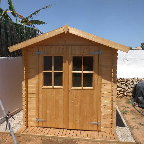 Opiniones sobre hobycasa caseta de madera para aperos for Casetas de huerto