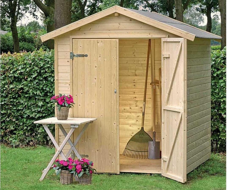 C mo dejar ordenado el jard n en invierno casetas de madera for Casetas de jardin con suelo