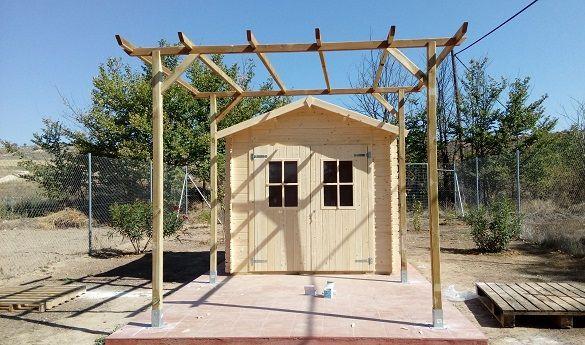 Opiniones clientes Hobycasa sobre la calidad de las casetas de madera FINA