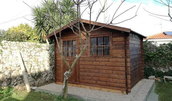 Autoconstrucción de una casa de madera Dalia