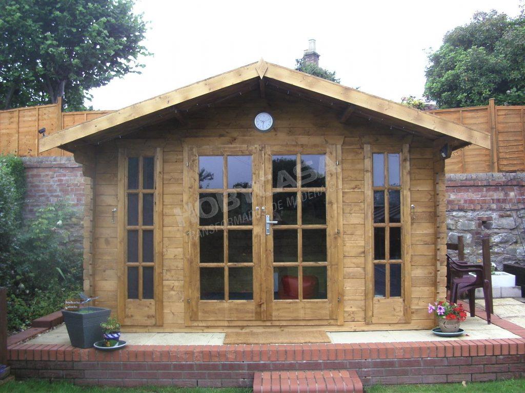 Casetas de madera para jardín a medida Max