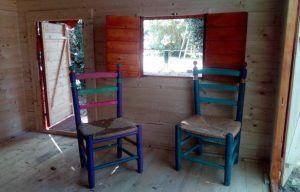 casitas de madera para niños para hoteles