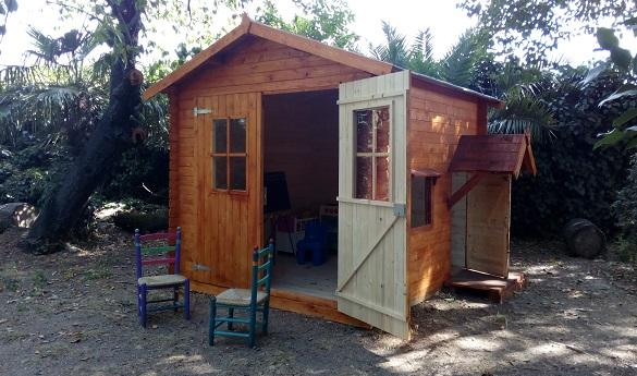 casitas de madera para niños para hoteles y agroturismos