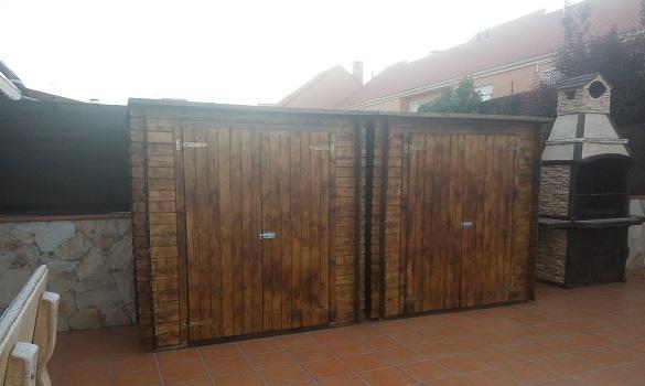 Armarios de madera - Armarios de madera para jardin ...