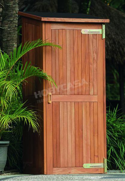 Armarios de madera para terrazas madera tropical