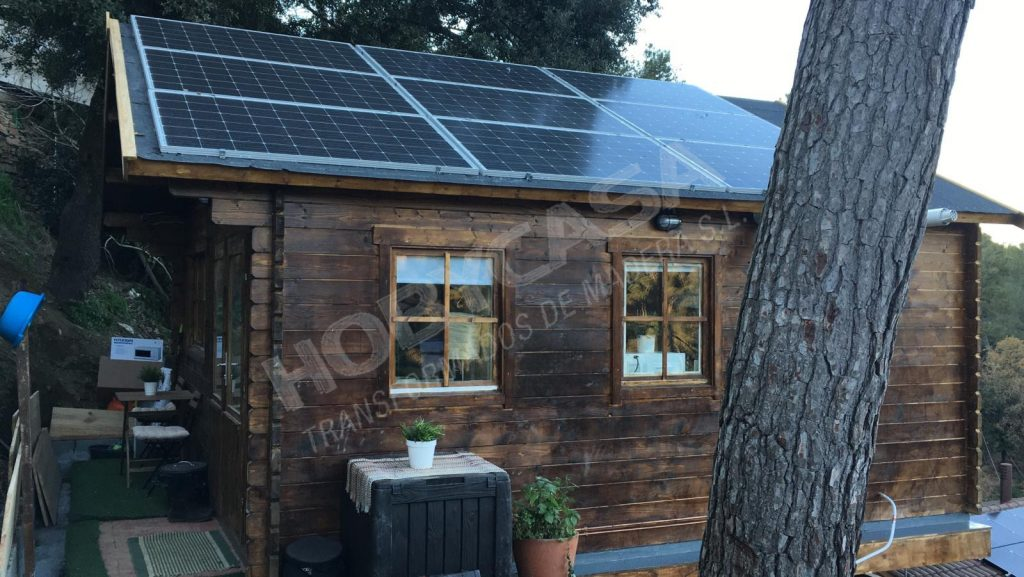 Porches de madera para mobil home Berlin