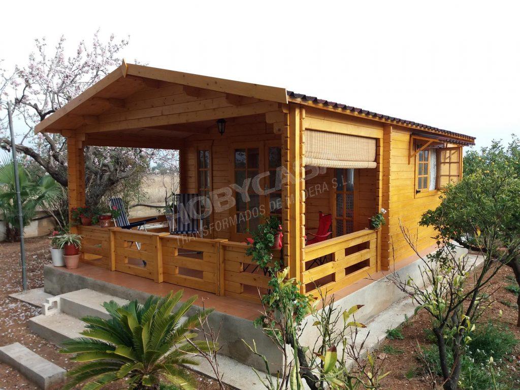 Porches de madera para mobil home Frodo