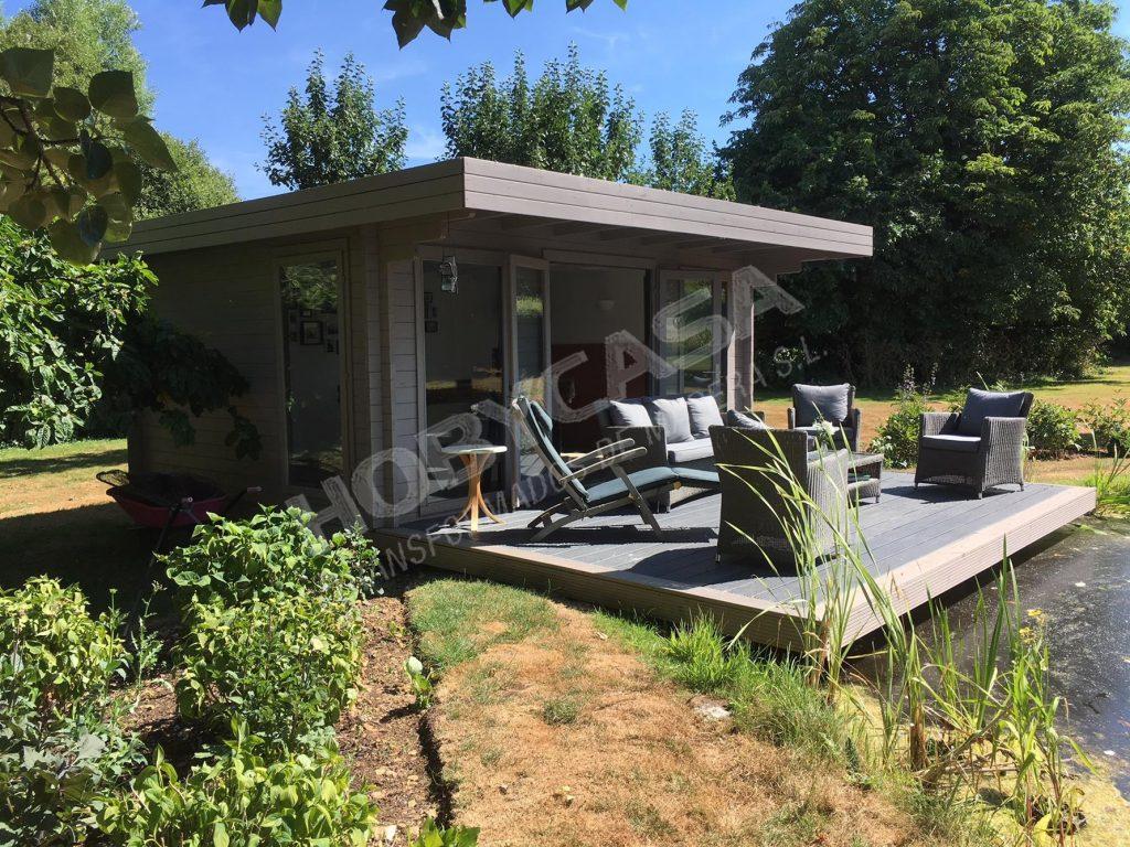 Porches de madera para mobil home Yorick