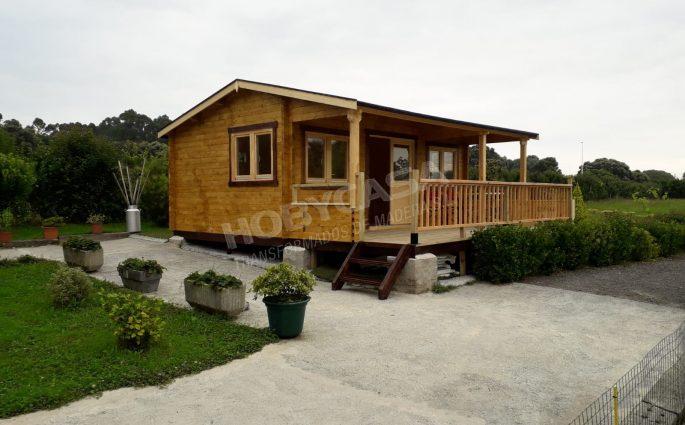 Porches de madera para mobil home Henning