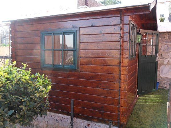 Casa de madera y montaje - Montaje casa de madera ...