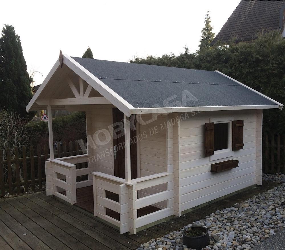 Proteger madera exteriores con barniz o esmalte Marii