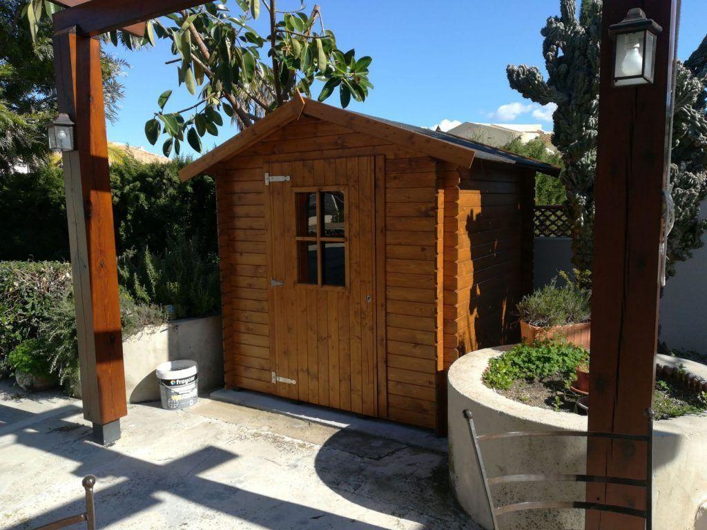Casetas de madera para jardín - casas de clientes