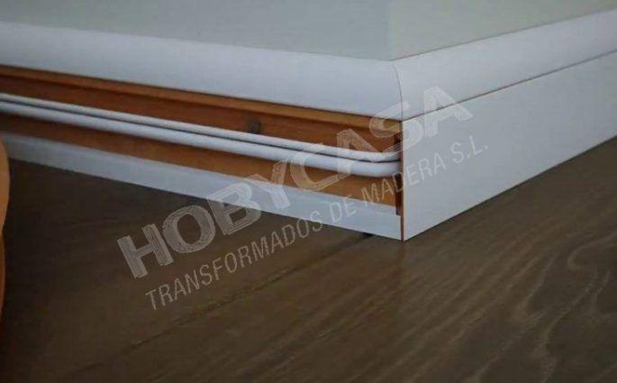 casas de madera instalación electrica cableado