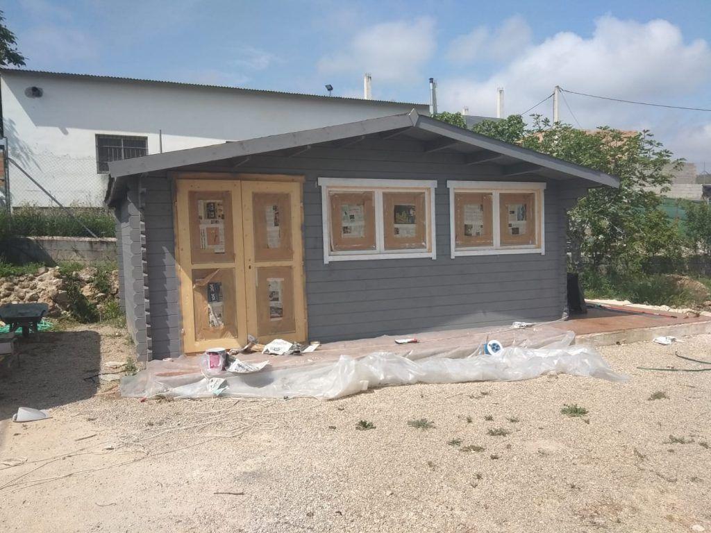 Casas de madera prefabricadas opiniones Pintado
