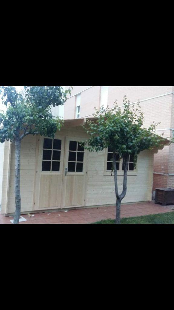 Casas de madera diáfanas - casas de clientes