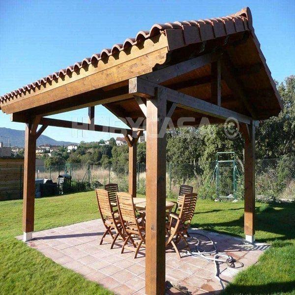 Decorar Terraza Con Porches Y Pergolas Hobycasa