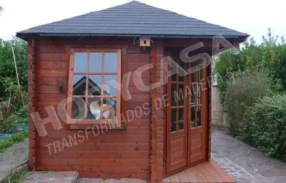 casas de madera pintadas exterior