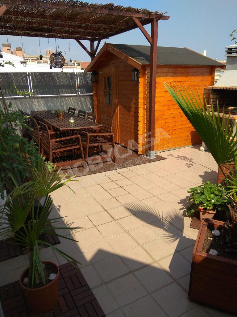 Casetas de madera para exterior Cinzia