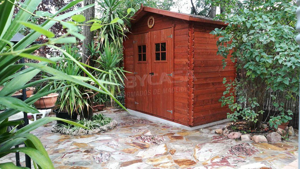 Casetas de madera para exterior Fina