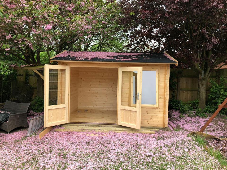 Casetas de madera - casas de clientes