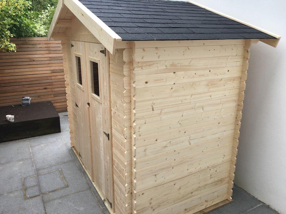 Casetas de madera en Madrid - casas de clientes