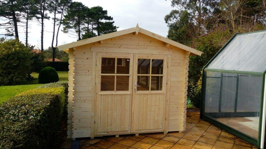 Casetas de madera en Navarra - casas de clientes