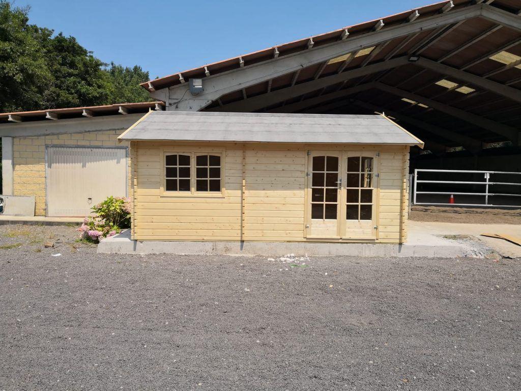 Cabañas de madera con estancias y diseño original - casas de clientes