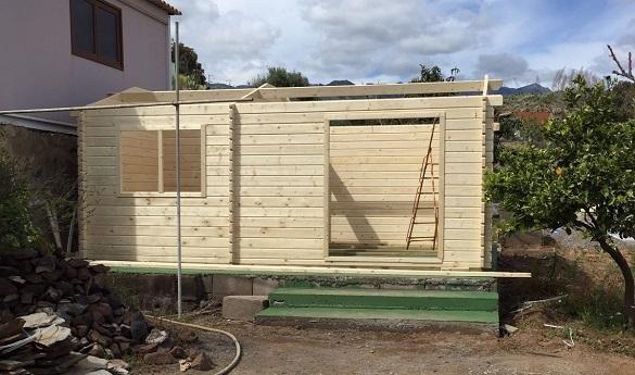 Cabañas de madera con estancias - casas de clientes