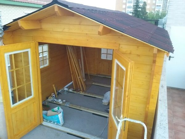 Casas de madera en Cantabria - casas de clientes