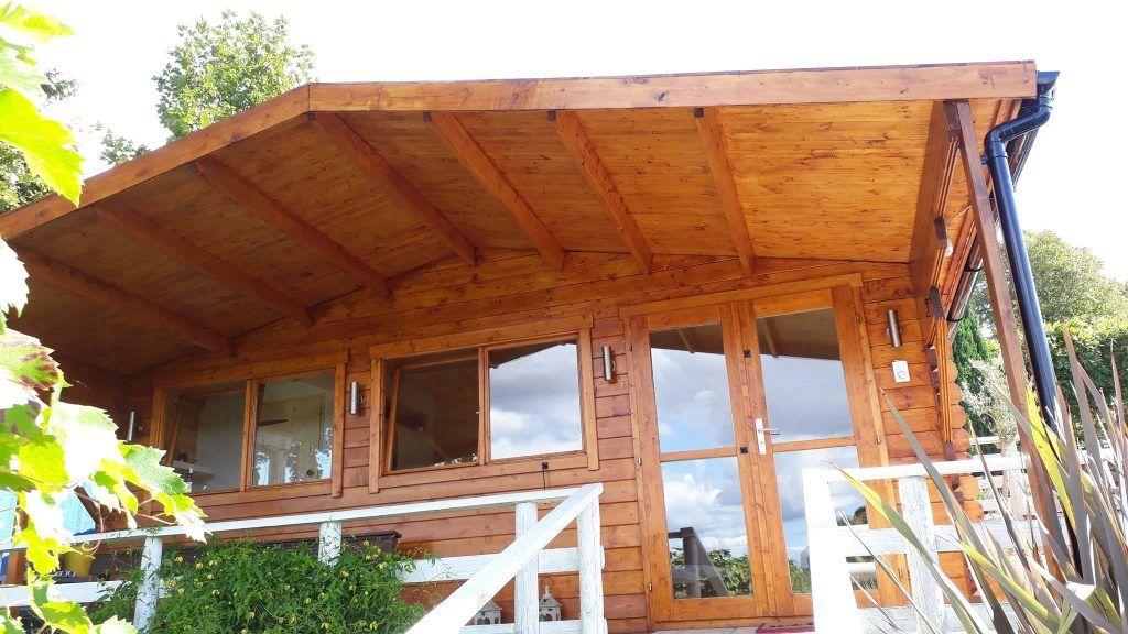 Cabañas de madera en Almeria - casas de clientes