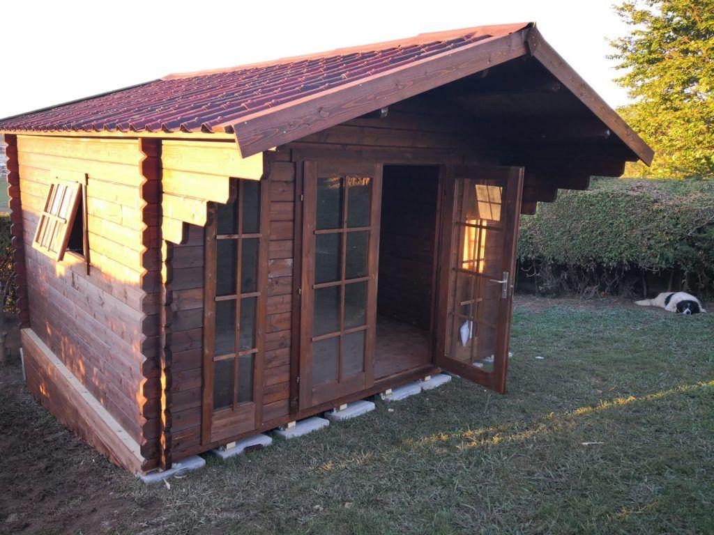 Cabañas de madera en Guipuzcoa - casas de clientes