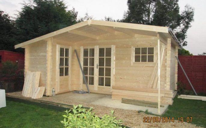Como montar una casa de madera Wolfgang montada