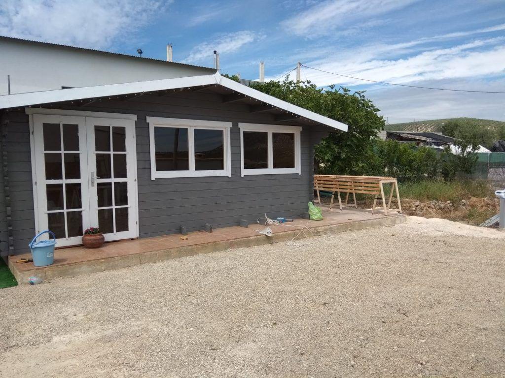 Cabañas de madera en La Rioja - casas de clientes