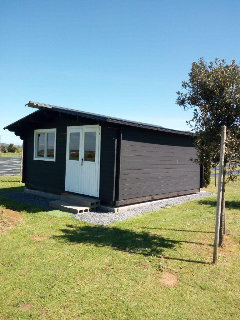 Casas de madera diáfanas en Pontevedra - casas de clientes