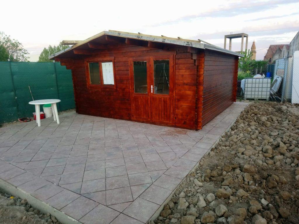 Cabañas de madera diáfanas - casas de clientes