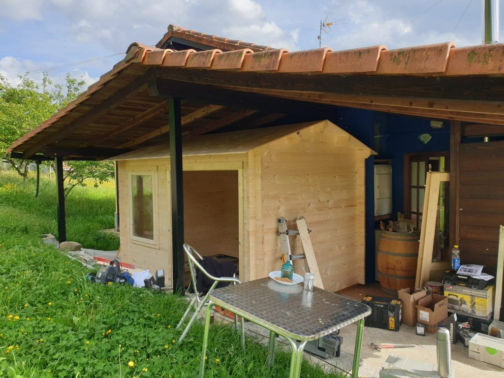 Caseta de madera montaje imposible - casas de madera
