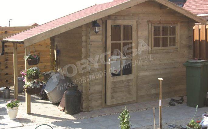 Casetas de madera para exterior Lars