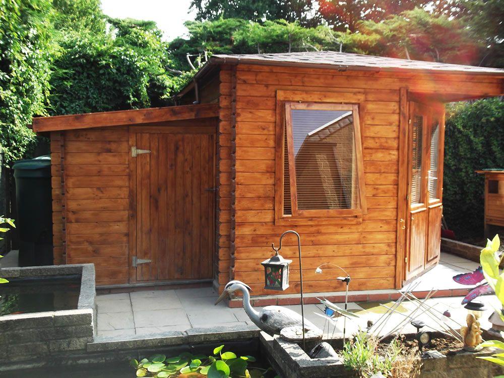 Anexos de madera para casas de madera - casas de clientes