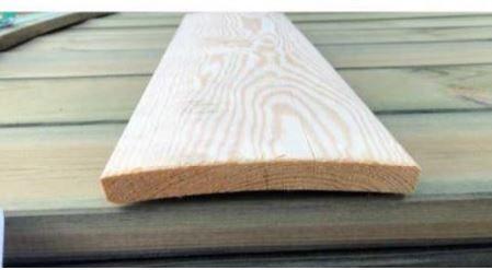 Como enderezar madera torcida Lama