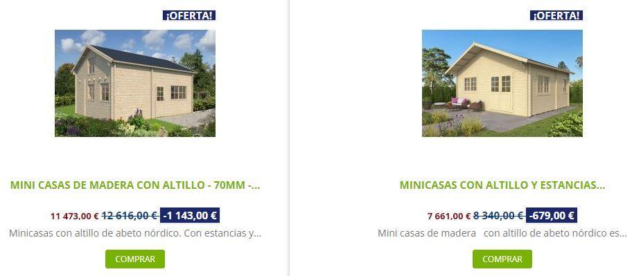 consejos para comprar una cabaña de madera comparación Mallorca Big Llanes