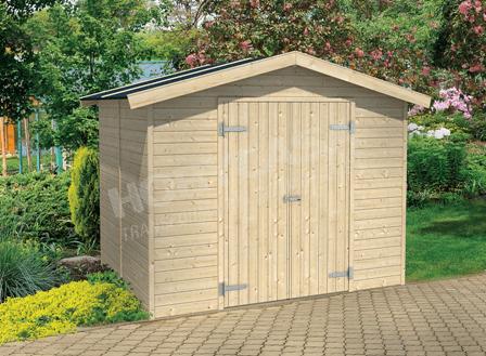 ventajas de comprar una caseta de madera Milan